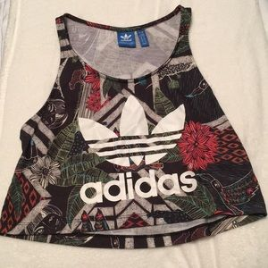ADDIDAS cropped tank top